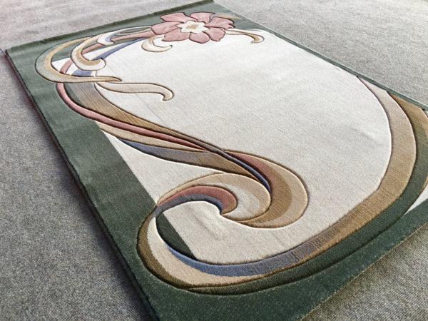 килим премиум 281 зелен